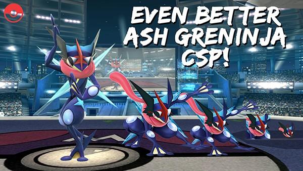 Ash Greninja [Super Smash Bros  (Wii U)] [Skin Mods]