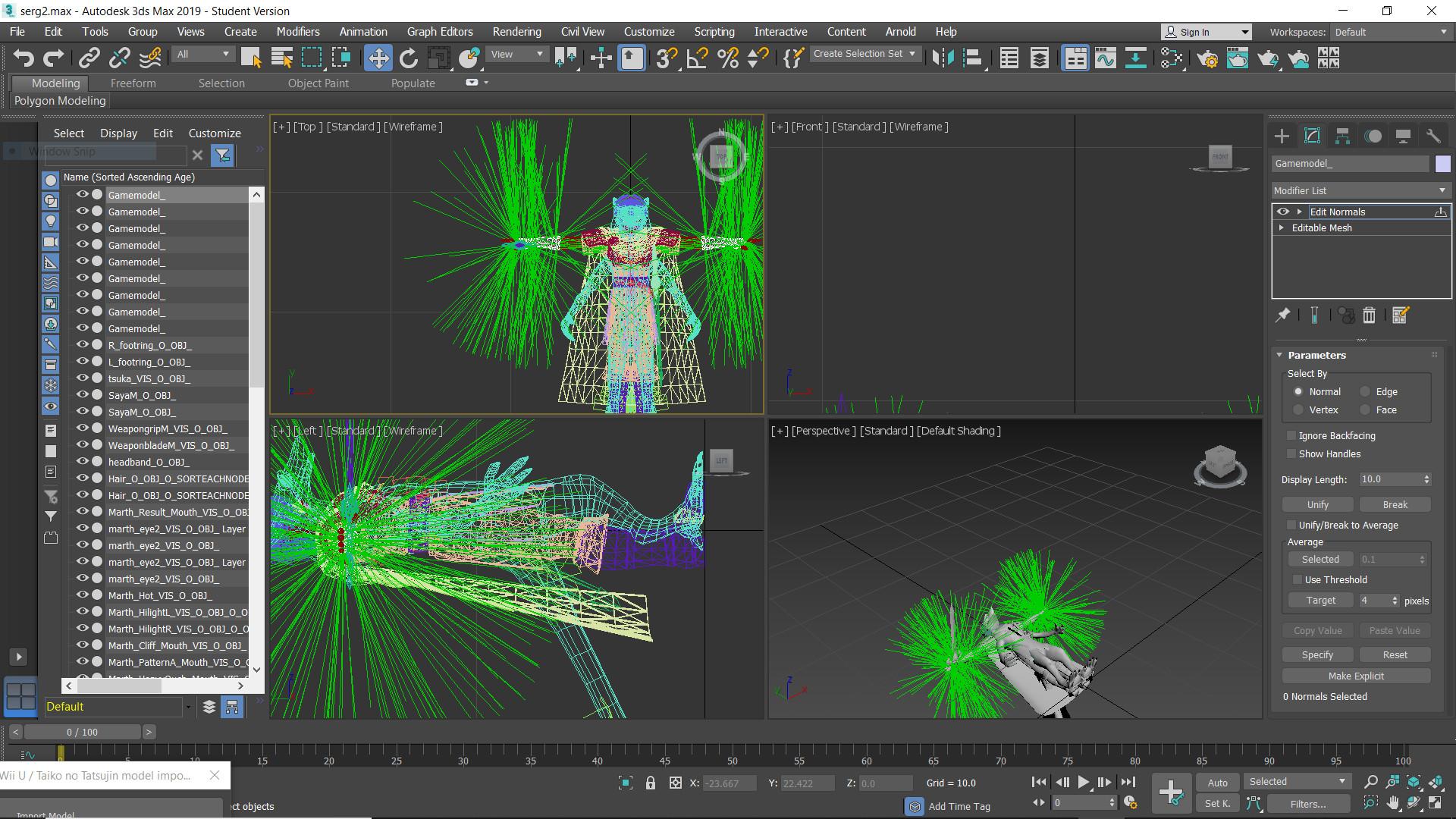 SSB4 Character Model Importing & Rigging Tutorial [Super Smash Bros