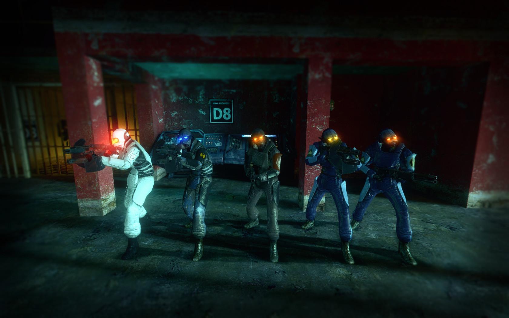 Female Combine + Metrocops [Half-Life 2] [Skin Mods]
