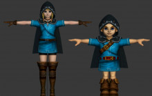 HD Legend of Zelda character models