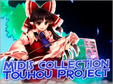 MIDI collection - Touhou Project (Music CDs)