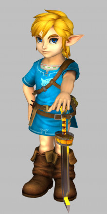 HD Legend of Zelda character models