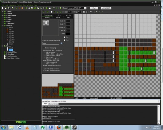 Game Maker:Studio Tutorials Project screenshot #1