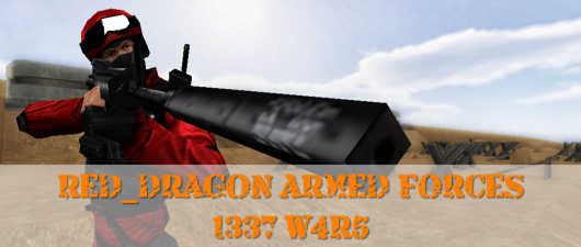 Red_Dragon Armed Forces: 1337 W4R5 Full Version Project screenshot #1