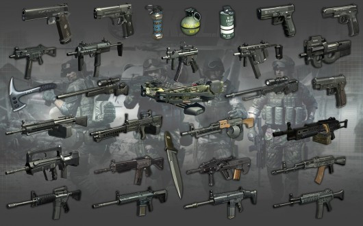Soldier Front 2 : All Weapons Plugin w/ Extra Item
