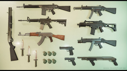 FPS Weapons Pack Retexturing