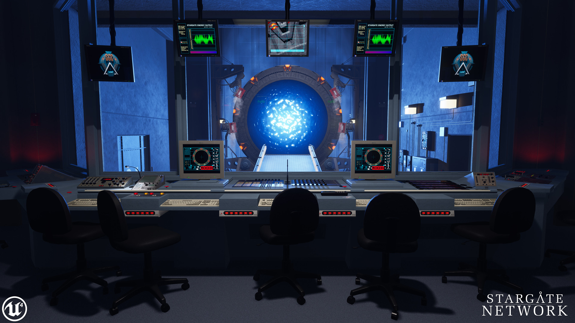 Stargate Network [Unreal Engine 4] [Projects]