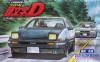 Initial D AE86 over Sports Coupe