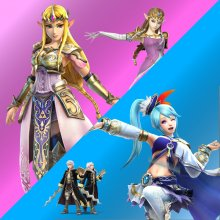 Zelda or Lana from Hyrule Warriors over Zelda or Robin