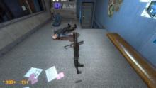 Black Mesa shotgun unfolded stock