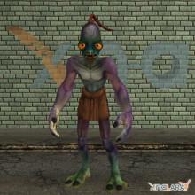 Abe (Oddworld) model for Gmod
