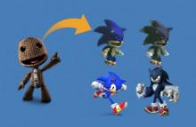 Sackboy Sonic/Werehog Alts