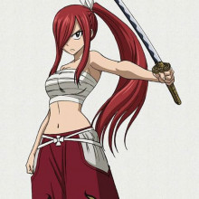 Erza Scarlet (Clear Heart Clothing) Over Lucina