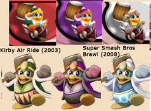 King Dedede's alts from Air Ride request