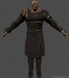 Resident Evil Nemesis model import