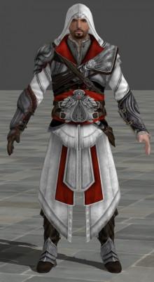Assasin s Creed Ezio model import