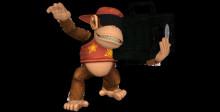 Boombox Diddy Kong DKC2 (SBB Brawl Mods)
