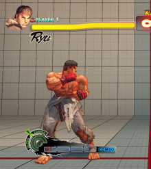 Ryu no top gouken, no gloves, and no headband
