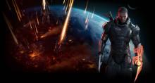 Commander Shepard Loading Screen
