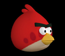 red bird angrybirds over jigglipuff