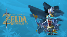 Revali (Botw) over Falco