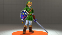 Hyrule Warriors/Project M: Ocarina of Time Link Model Import