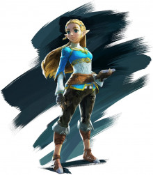 Zelda (Breath of the Wild) outfit mod