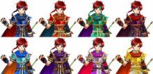 Roy and Ike Fire Emblem Heroes CSPs