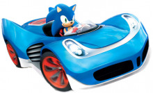 Sonic Transformed Kart