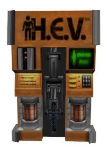 Half-Life: Decay Suit/Health Chargers.