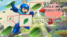 Replace Mega Man's Leaf Shield with Weed Leaves