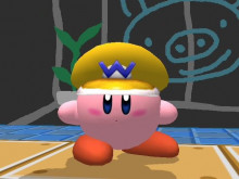 REAL Wario hat for Kirby