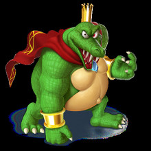 king k rool 64 over wario
