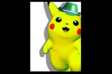 Melee Green Hat Pikachu