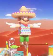 Mario's Sombrero outfit from Odyssey