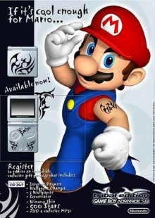 Tribal Tattoo Mario