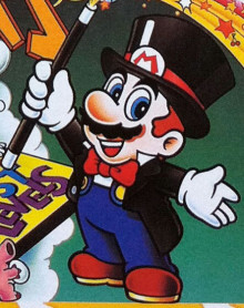 Magician Mario (Super Mario All-Stars)