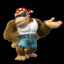 Funky Kong over Donkey Kong [REQUEST]