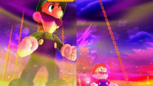 Mario & Luigi: Mario, Luigi, and Bowser.