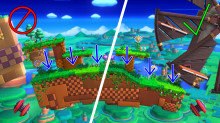 Windy Hill Zone with no gravity effect