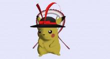 Pikuchu (Iku Nagae Hat Pikachu) Request