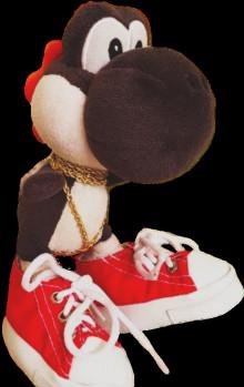 SuperMarioLogan's Black Yoshi