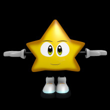 Ristar (Pac-Man or Sonic)