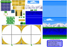 Azure Lake Level Mod for Green Hill Zone