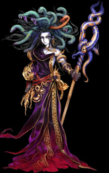 Medusa over Palutena
