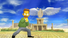 Ned Flanders Over Little Mac