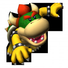 Koopa Kid over Bowser Jr.