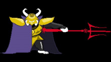 Asgore over Ike