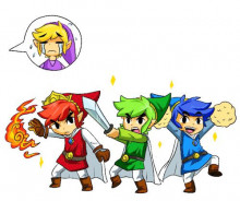 Sword Suit for Toon Link from Triforce Heroes