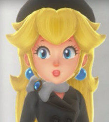 Peach's Cap Kingdom costume
